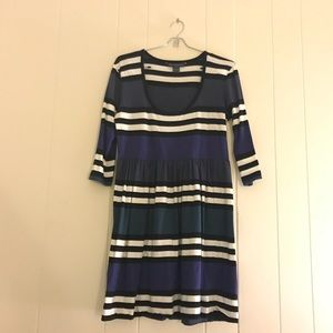 ✨ French Connection cute striped mini dress US 10✨